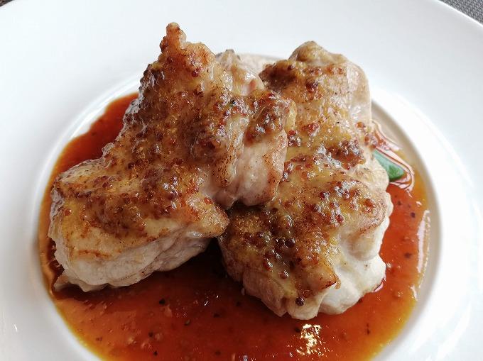 若鶏のハニーマスタード焼き