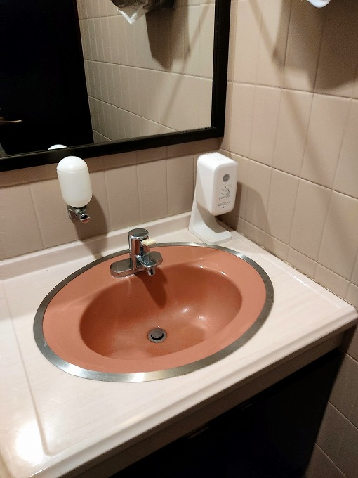 手洗いコーナー
