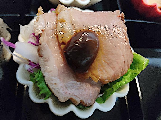 鴨のロースト甜面醤ソース